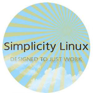 Simplicity Linux 16.07 - USB
